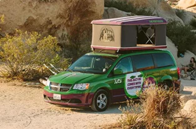 Jucy campervan