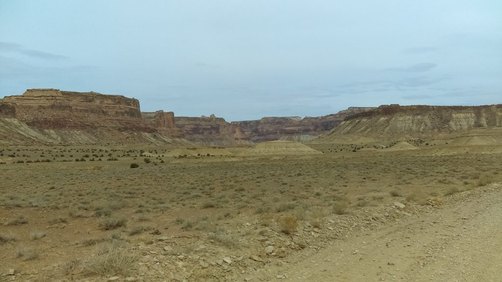 Looking back into Buckhorn Wash, San Rafael Swell