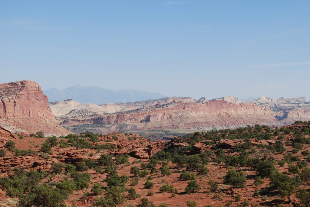 Panorama Point, Capitol Reef National Park