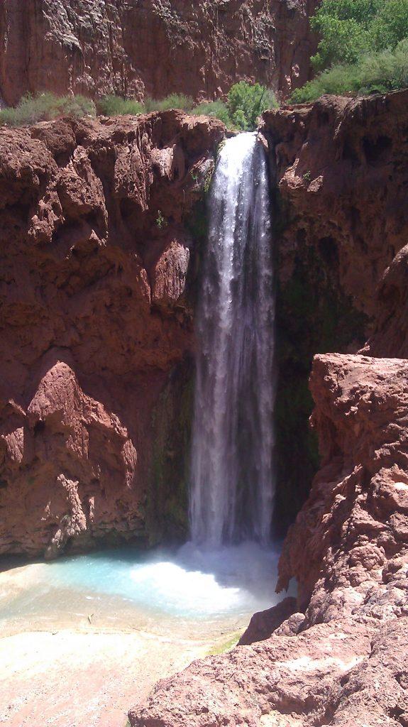 Ribbon waterfall