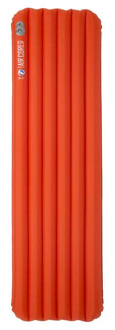 orange air sleeping pad