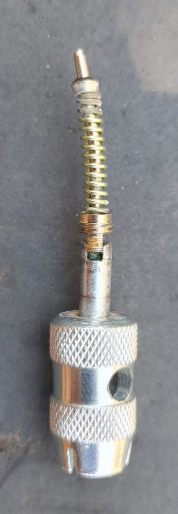 schrader valve core and remover